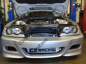 Gt35 Turbo Manifold Downpipe Intercooler Kit For Bmw E46 M52 Engine Na T