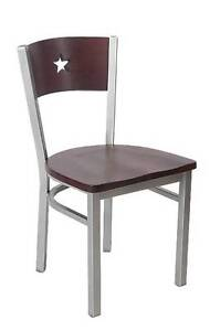 Lot Of 20 Grey Finish Star Back Metal Chair