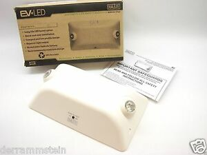 Hubbell Lighting Dual lite Ev2 Wall Mounting Emergency Light Led Nimh White T17
