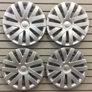 New 16 Hubcaps Wheelcovers For 2010 2014 Vw Volkswagon Jetta Set Of 4