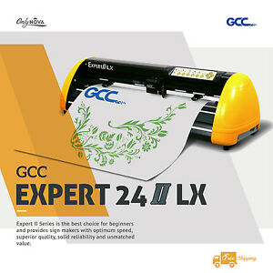 New Gcc Expert Lx 24 Vinyl Cutter Plotter W Free Software Free Shipping