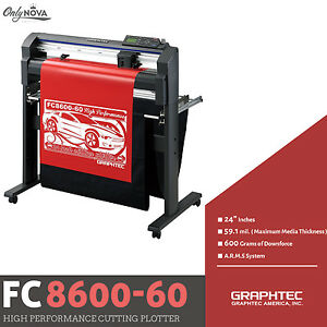 Graphtec Fc8600 60 24 Vinyl Cutter Plotter free Stand Free Shipping