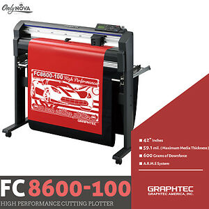Graphtec Fc8600 100 42 Vinyl Cutter Plotter free Stand Free Shipping
