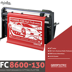 Graphtec Fc8600 130 54 Vinyl Cutter Plotter free Stand Free Shipping
