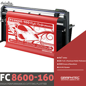 Graphtec Fc8600 160 64 Vinyl Cutter Plotter free Stand Free Shipping