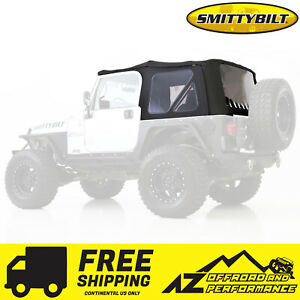 Smittybilt Replacement Soft Top W Tinted Windows 97 06 Jeep Wrangler Tj 9970235