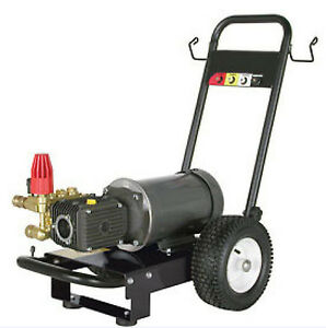 Pressure Washer Electric Commercial 2 Hp 110v 1 500 Psi 2 Gpm Cat