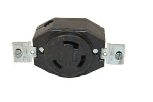 Generac Portables Parts 38253 250v 30a 3 Prong Locking Type Outlet _ Gen 38253