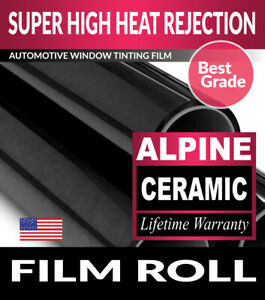 Filmvantage Alpine 35 Vlt 30 X 78 Window Tint Roll 76 2cm X 198 12cm