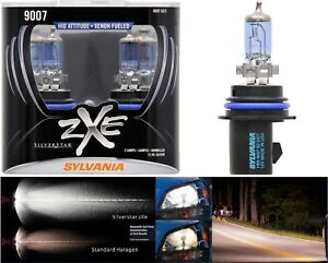Sylvania Silverstar Zxe 9007 Hb5 65 55w Two Bulbs Head Light Dual Beam High Low