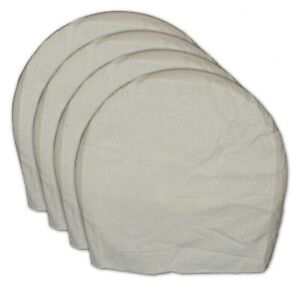 Aes Heavy Duty Canvas Wheel Maskers Set Of 4 Extra Large 30239