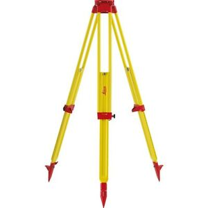 Leica Gst120 9 Tripod Wooden Tripod For Total Station Theodolite Level