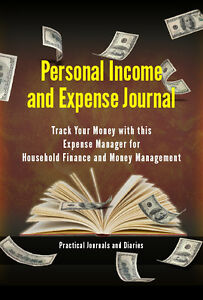 New Personal Income And Expense Journal Track Your Money Finance Management