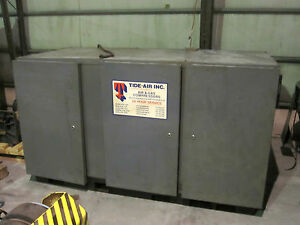 50 Hp Atlas Copco Rotary Screw Air Compressor Model Ga 507