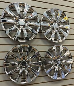New 2011 2013 Toyota Corolla 16 Chrome Hubcap Wheelcover Chrome Set Of 4