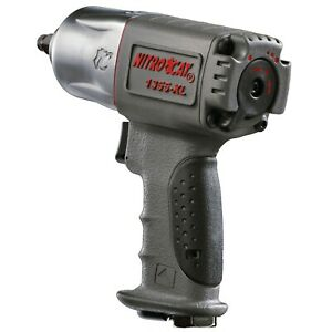 Aircat Nitrocat 3 8 Composite Xtreme Torque Twin Hammer Impact Wrench 1355 Xl