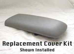 Ford Explorer Armrest Replacement Cover Kit For 1995 01 Light Gray Consoles