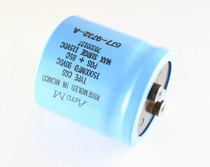 New 1 Pc Aero m 15000uf 90v Large Can Screw Terminal Electrolytic Capacitor