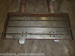 44 X 20 Steel Welding T slotted Table Cast Iron Layout Plate 3 T slot Weld