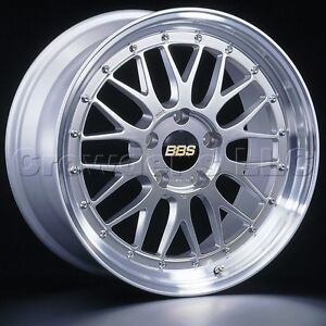 Bbs 19 X 9 Lm Car Wheel Rim 5 X 114 3 Part Lm118hdspk