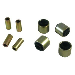 Whiteline W63393 Rear Control Arm Lower Front Inner Outer Bushing