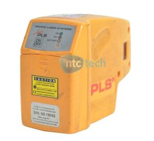 Pacific Laser Systems Laser Pls 60541 Pls 5 Laser Level Tool Yellow Grade C