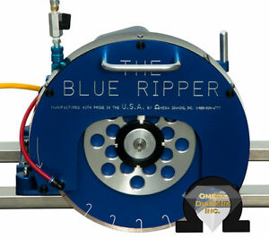 3hp Blue Ripper Sr Rail Saw For Granite Marble And Stone Counter tops