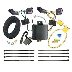 T one 4 way T connector Trailer Hitch Wiring For Dodge Durango