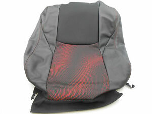 New Oem 2011 Mazda 3 Right Front Upper Seat Cover Black Red Cloth Leather