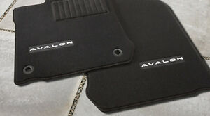Toyota Avalon 2013 2015 Black Carpet Floor Mats Set Oem New
