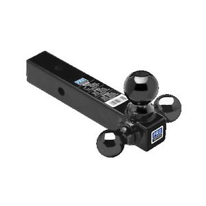 Pro Series 80425 Black Powder Coated Tri ball Ball Mount