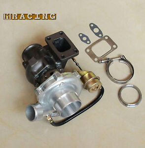 New T3 T4 T3t4 Turbo Turbocharger Oil Universal V Band 63 A R To4e T3 Flange