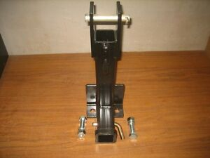 Heavy Duty 3 Point Draw Bar Trailer Hitch With welded On 3 8 Grabhook