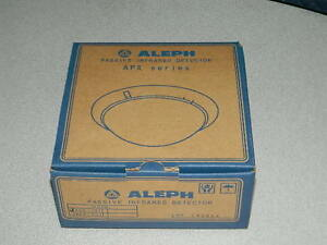 Aleph Apx101 Passive Infrared Detector Ceiling Mounted Fire Alarm Apx 101