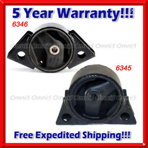 K102 Fit 93 01 Nissan Altima 2 4l Front Rear Engine Mount 2pcs For Auto Trans