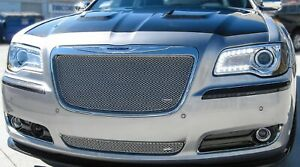 Grillcraft Chr3003s Silver Mx Grille Lower Insert For Chrysler 300