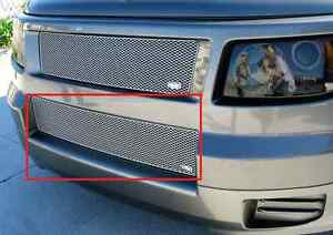 Grillcraft Hon1205s Silver Mx Grille Lower Insert For 07 08 Honda Element Sc