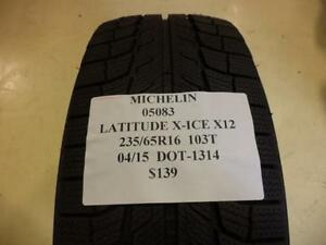 3 Michelin Latitude X Ice X12 235 65 16 103t Brand New Tires 05083