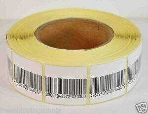 Eas Anti theft Security Checkpoint Soft Label Tag 1000pcs 8 2 Mhz 40mmx40mm