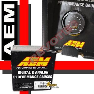 Aem 30 4406 52mm Digital Electronic Turbo Boost Gauge