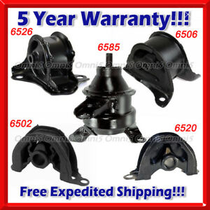 K158 Fit 1997 2001 Honda Crv 2 0l Engine Motor Trans Mount Set 5pcs For Auto