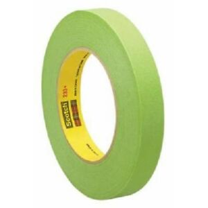 3m 26334 3 4 Scotch Performance Green Masking Tape 233 18 Mm Width