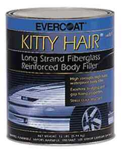 Evercoat Kitty Hair Long Strand Fiberglass Reinforced Body Filler 1 Quart 868