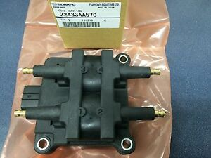 Subaru Impreza Forester Legacy Outback Ignition Coil Pack Oem New Genuine 99 06
