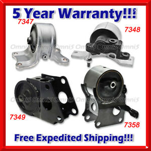 K108 For 02 04 Nissan Altima 3 5l Engine Trans Mount 4pc Auto Trans W O Sensor