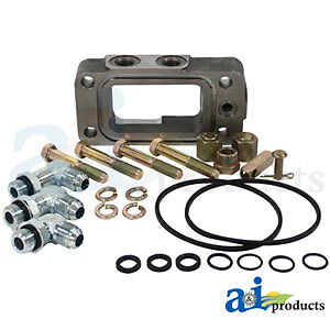 Compatible With John Deere Aux Hyd Outlet Kit Ar71331 4850 4840 4760 4755 4650