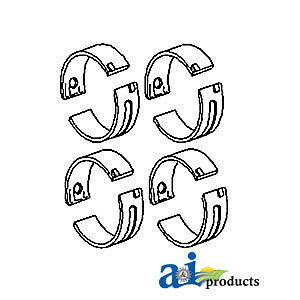 Compatible With John Deere Bearing Set Main Std Mb115 2010 gas Sn 31000 1020