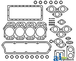 John Deere Parts Gasket Set Overhaul Re37715 595d 590d 555g 555b 555a 550