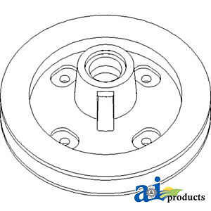 Compatible With John Deere Pulley Slip Clutch Tail Ah173040 9870sts 9860sts 9