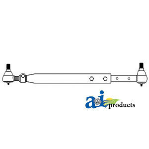 Compatible With John Deere Tie Rod Assy Ar44341 4760 w Extra Wide Front Axle